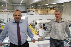 Henning Wichmann (Geschäftsführer INVENT GmbH) und Carsten Schöppinger (Technischer Leiter INVENT GmbH)